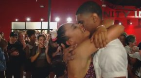 Dance Choreographer Proposes to His Girlfriend