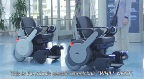 The Amazing Robotic Electric Wheelchair Whill Next