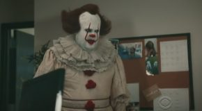 A Confused Pennywise in 'IT Department'