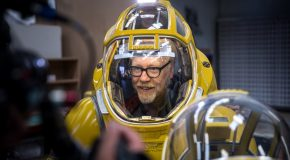 Adam Savage Explores the Science-Fiction Spacesuits of FBFX!