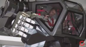 Driving An $8,000,000 Gigantic Mech Robot Suit