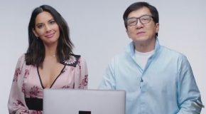 Jackie Chan and Olivia Munn Answer Martial Arts Questions