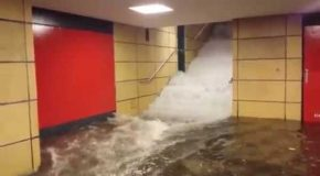 This is Why You Do Not Go Into The Subway During Flooding
