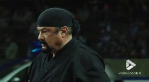 Steven Seagal Shows How to Fight off Multiple Opponents