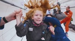 Zero G Flight For Extraordinary Kids