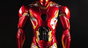 Case Modder Builds Life-Size Set of Iron Man Mk. 45 Armor
