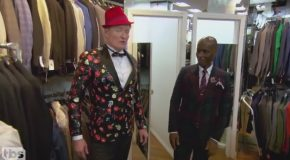 Conan Gets Styled By Dapper Dan Conan on TBS