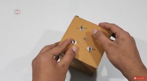Electronic Puzzle Box That Jumps When Unlocked