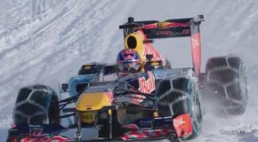F1 Run Through The Snow