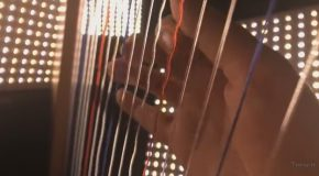 The Stranger Things Theme Song Played on a Harp and Cello