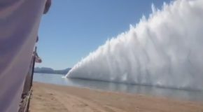 You've Never Seen A Boat Go This Fast Before
