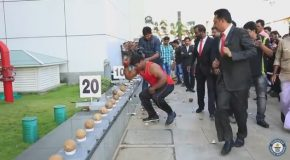 Most Coconuts Smashed in a Minute! Guinness World Records