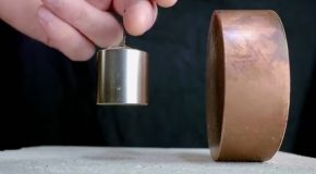 Copper's Surprising Reaction to Strong Magnets