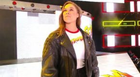 It's Official- Ronda Rousey Joins The WWE