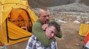 Steve-o Gets Choked Out by Chuck Liddell