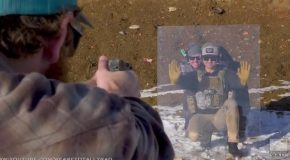 Idiots Test Bulletproof Glass in the Worst Way Possible