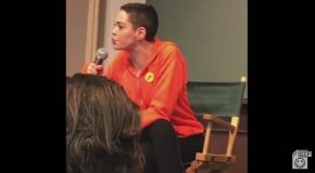 Rose McGowan And A Trans Woman Have A Heated Argument During Her Speaking Tour