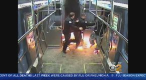 Man Accused Of Setting Fire On Chicago Train