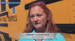 Dramatic Video Shows Tractor Trailer Hit School Bus Carrying Special Needs Student