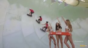 Skaters Have Their Dream Day at a Water Park and it's Awesome