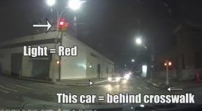 Undercover Cops Run a Red Light And Try To Blame An Innocent Man