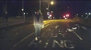 Cyclist Fails to Fool Driver