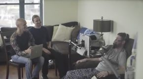 Project Revoice : Pat Hears His Voice for the First Time