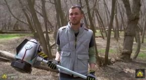 Smashing Objects With Fortnite's Vindertech Rocket Hammer in Real Life