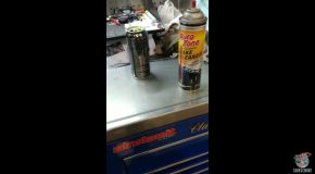Energy Drink Cleans Better Than Brake Cleaner