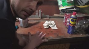 Guy Tries Marijuana to Remove a Stain That Harsh Chemical Cleaners Cannot