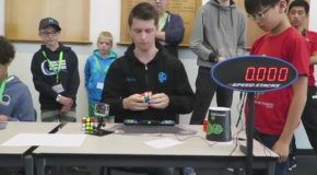 Rubik's Cube World Record – 4.22 seconds
