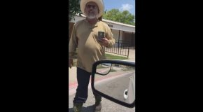 Texas Driver's Racist Road Rage Caught on Video