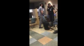 Waiting Room Hospital Fight