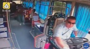 Dramatic Video as Mobile Phone Charger Bursts into Flames On Bus