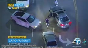 Here is The Single Stupidest Police Chase Ever