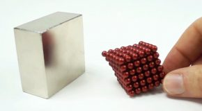 Magnet Collision in Slow Motion