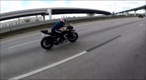 Motorcycle Wobble at 130 km/h