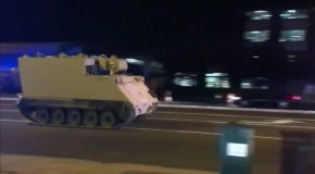 Police Chased A Stolen Military Vehicle Through Virginia