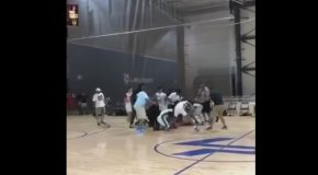 Big Fight! Aau Players vs Referees