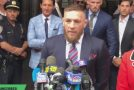 Conor McGregor Issues Statement Outside Brooklyn Court