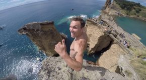 Professional Cliff Diving