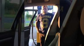 Father Leaves His Son in The Car and Regrets it As he Comes Back