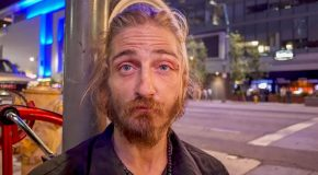 Los Angeles Homeless Man Shares the Harsh Reality of Skid Row