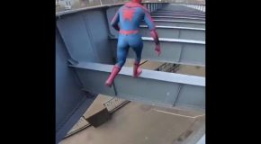 Spiderman in Real Life