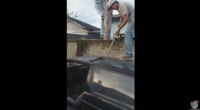 DIY Car Demolition