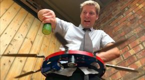 Scientist Concocts a Spinning Belt of Knives
