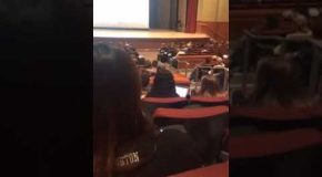 Guy Watches P@rn in The Middle of a Huge Lecture