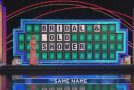 Naughty Wheel Of Fortune Contestant Fails to Solve The Puzzle