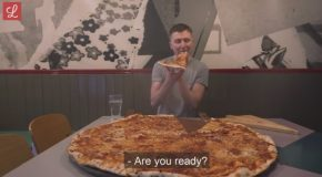 Food Challenge : The Biggest Pizza In Ireland