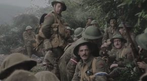Peter Jackson's Meticulously Restored WWI Footage